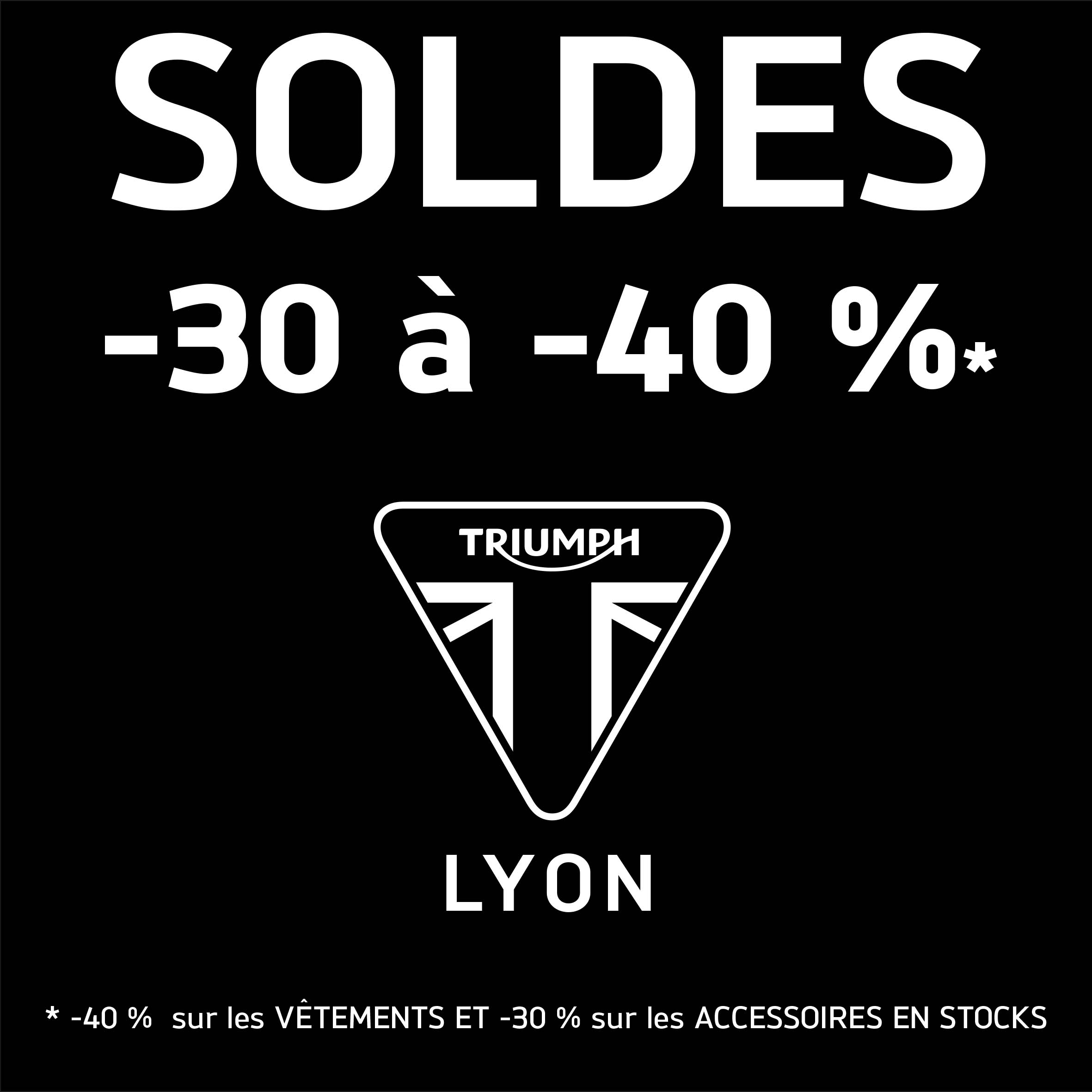 Solde du 28 juin au 8 ao t 2017 actualit de triumph lyon - Solde derniere demarque ...